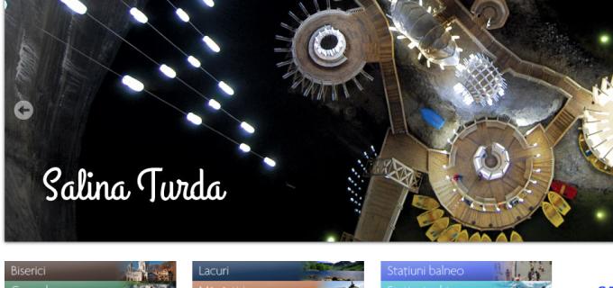 Salina Turda ocupă prima pagină a site-ului turistic: LocuriDinRomania.ro