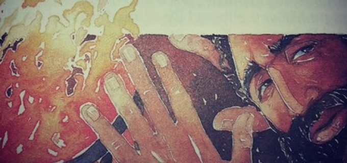 """""""Lepădarea lui Petru"""", poezie scrisă de turdeanul Călin Pop:"""