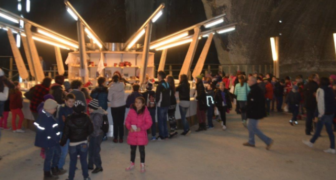 Cupa Salina Turda – primul Festival Internațional de Șah pentru Copii desfășurat în subteran