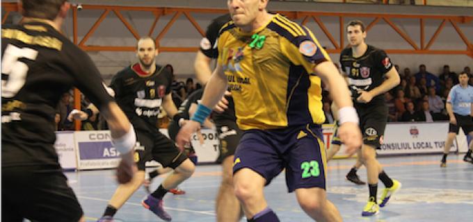 Handbal: Egal în ultima secundă obținut de HC Odorhei în derby-ul cu Potaissa Turda