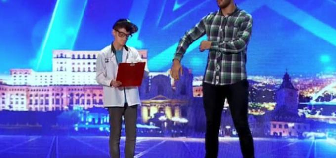 VIDEO: Doi frați din Câmpia Turzii au ridicat jurații în picioare la Românii au Talent