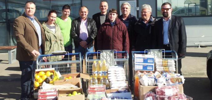 """Membrii PC Turda, alături de Mircea Irimie, au vizitat persoanele vârstnice internate la așezământul """"Acoperământul Maicii Domnului"""""""
