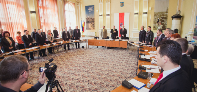 Joi, 27 August 2015, sedinta extraordinara a Consiliului Local Turda