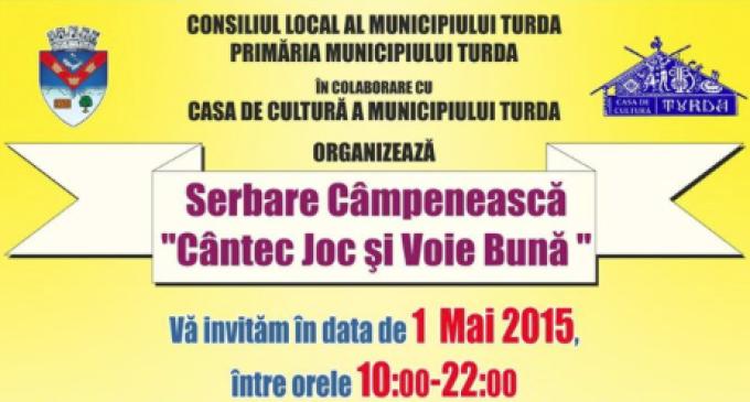 """Serbare Câmpenească în zona Băilor Sărate de 1 Mai sub titulatura """"Cântec Joc şi Voie Bună"""""""