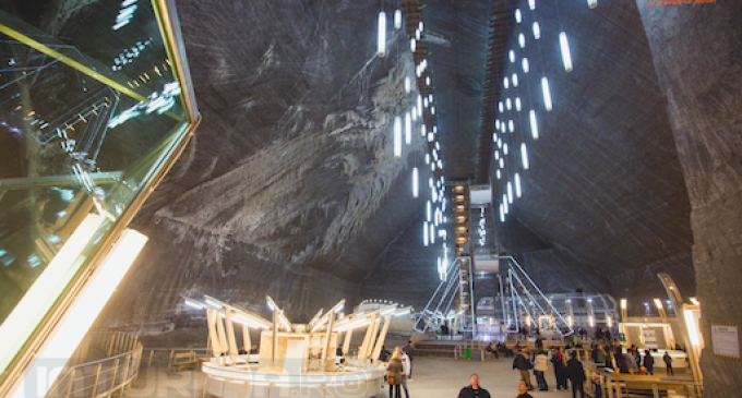 Mashable.com includes Turda Salt Mine on a list with 12 gorgeous salt caves good for the mind and body