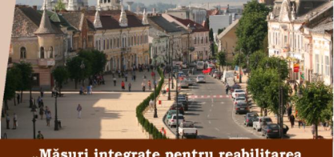 Comunicat: Măsuri integrate pentru reabilitarea prudentă și revitalizarea econimică a centrului istoric al municipiului Turda