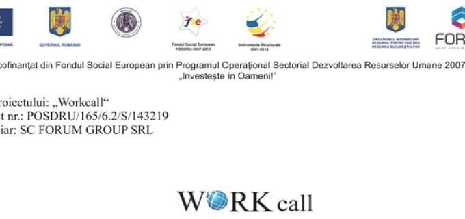 """Masa rotundă ,,ACCES PENTRU TOȚI"""" organizată în cadrul proiectului """"Workcall"""" la Turda"""