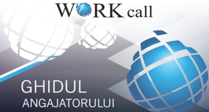 """Proiectul """"Workcall"""": Ghidul angajatorului – o unealtă pentru dărâmarea barierelor sociale"""