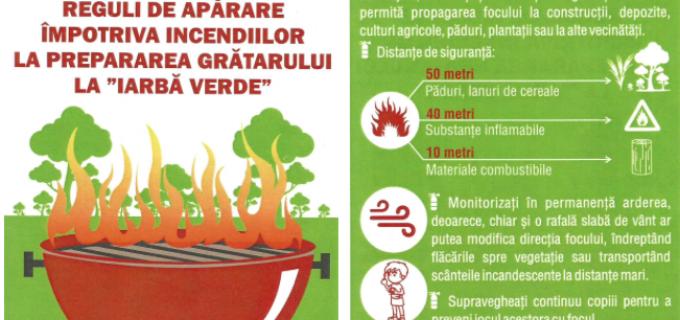 Recomandări pentru siguranța activităților din perioada 1-3 Mai 2015