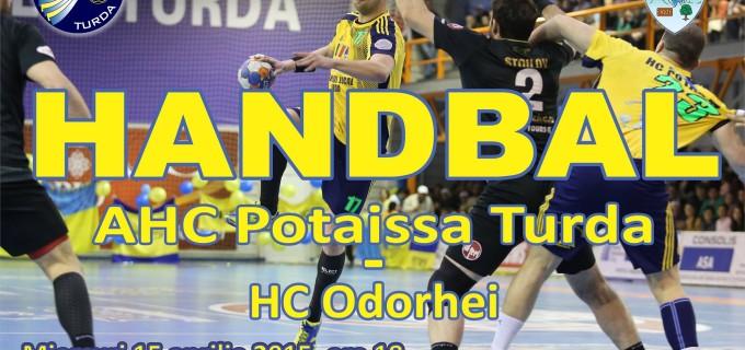 Primăria Turda ne invită la primul meci din play-off disputat de Potaissa Turda