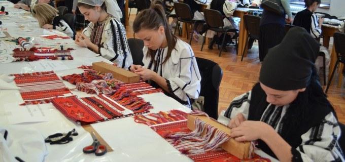"Sambata are loc in Cluj faza judeteana a Olimpiadei ""Mestesuguri Artistice Traditionale"""