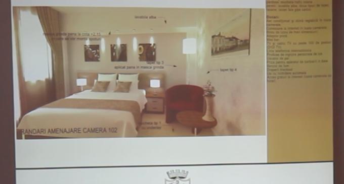 Consiliul Local Turda a aprobat lucrările de reabilitare a Hotelului Potaissa