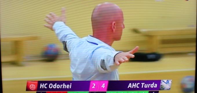 """POTAISSA A REUȘIT """"MISIUNEA IMPOSIBILĂ""""! HC Odorhei 31 – 33 Potaissa Turda. Vezi VIDEO cu finalul meciului"""
