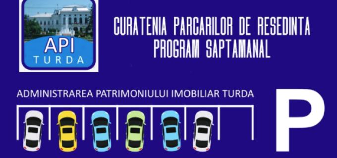API Turda: Programul de curățenie pentru săptămâna aceasta
