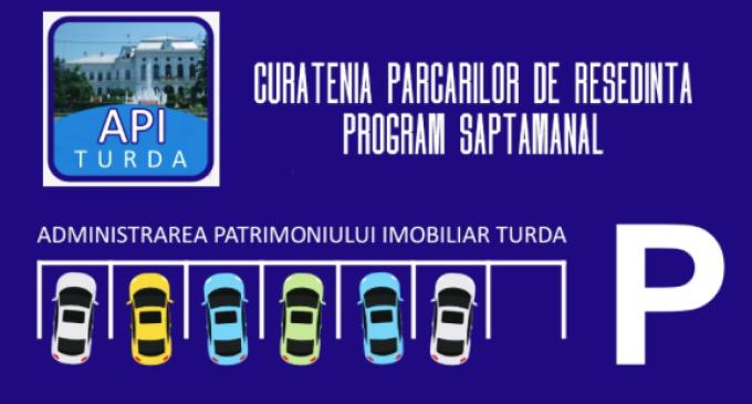 Programul lucrărilor de curățenie a zonelor cu parcări publice și garaje pentru săptamâna aceasta