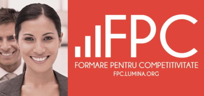 """""""FPC-Formarea pentru competivitate"""", proiect destinat persoanelor cu domiciliul în Turda"""