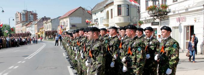 Programul ceremonialului organizat cu ocazia Zilei Independenței de Stat a României, Zilei Europei și Zilei Victoriei Coaliției Națiunilor Unite în cel de-al Doilea Război Mondial