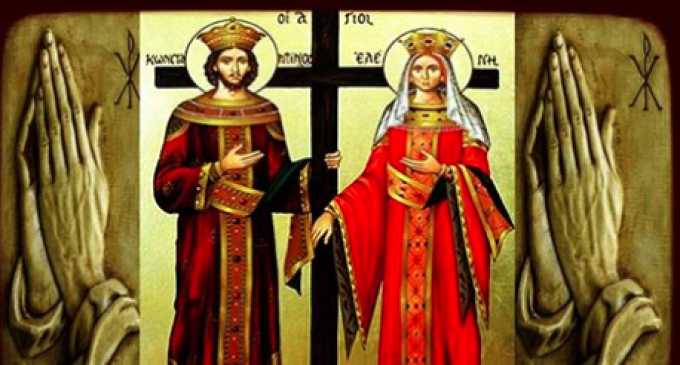 Mircea Irimie: La mulți ani tuturor celor care poartă numele Constantin și Elena
