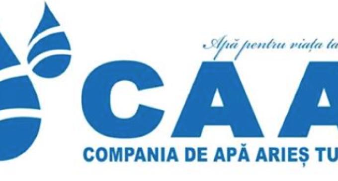 Compania de Apă ARIEŞ anunţă întreruperea furnizării apei potabile în zona Centru