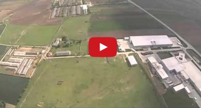 VIDEO: Noi filmări aeriene cu stadiul lucrărilor la Autostrada Turda – Sebeș