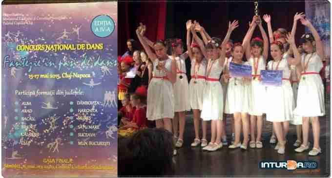 """Formația de dans """"FLY"""" a Clubului Copiilor Turda – mențiune la Concursul național """"Fantezie în pași de dans"""""""