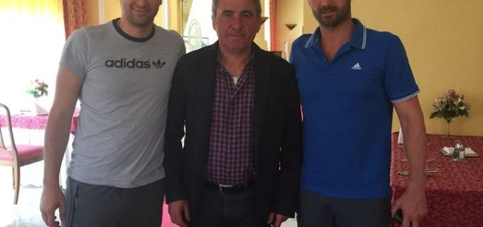 Încurajări de la Regele Hagi pentru jucătorii de la Potaissa Turda înaintea returului din semifinala cu CSM București
