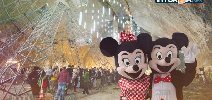 "Minnie si Mickey de ""Ziua Copilului"" la Salina Turda"