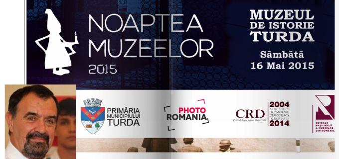 Tudor Ștefănie ne invită de Noaptea Muzeelor la Muzeul de Istorie Turda