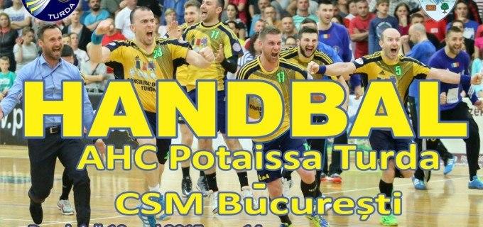 """Primăria Turda ne invită la handbal: """"o semifinală în care luptăm din nou pentru medaliile naționale"""""""