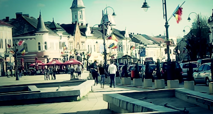 VIDEO: Un tânăr a realizat un clip de prezentare inedit pentru Turda