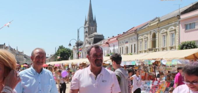 """Compania de Apă ARIEȘ partener la evenimentul """"TURDA ÎN CULOARE"""""""