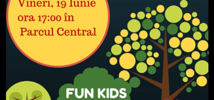 Fun Kids susține tot ce este sănătos și benefic pentru creșterea armonioasă a copiilor