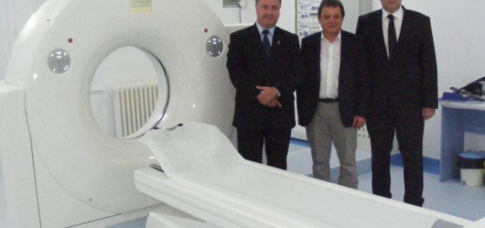Inaugurare Computer Tomograf de ultimă generaţie la cea mai mare unitate medicală ambulatorie din România