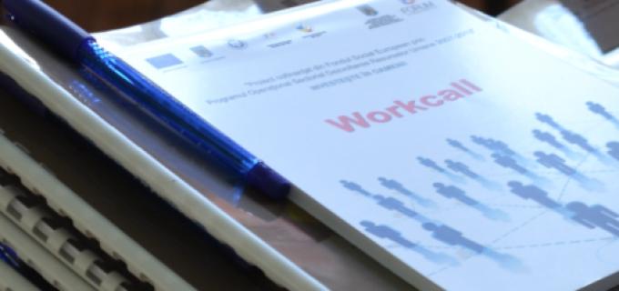Cursuri de formare profesională gratuite oferite prin proiectul ,,Workcall''