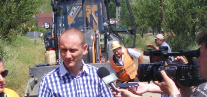 Președintele CJ, Mihai Seplecan, a efectuat o vizită în teren pentru analizarea stării drumurilor judeţene