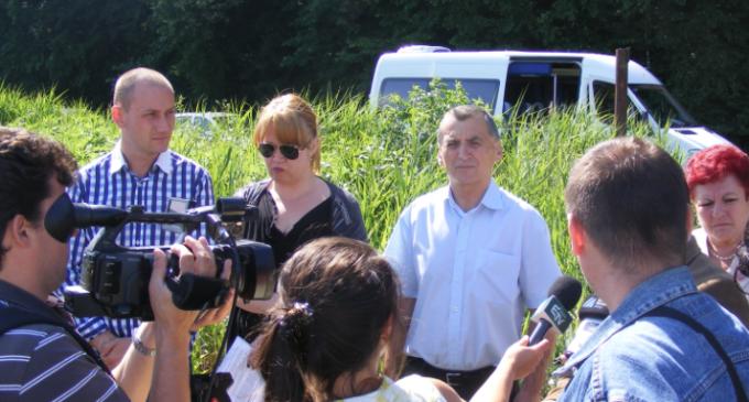 Mihai Seplecan a participat la predarea amplasamentelor depozitelor neconforme de deşeuri de la Câmpia Turzii și Dej