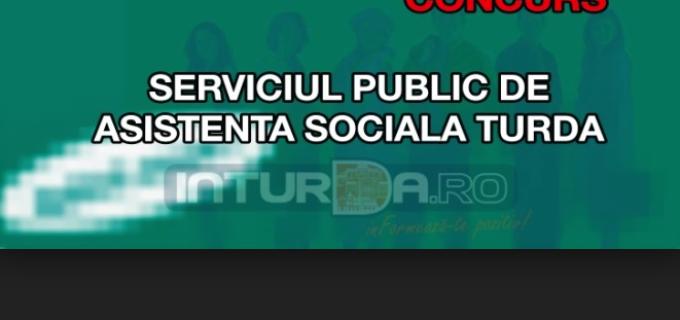 Concurs de promovare în grad profesional la Serviciul Public de Asistenţă Socială Turda