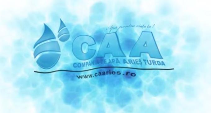 Compania de Apă ARIEŞ anunţă întreruperea furnizării apei potabile în zona Băi