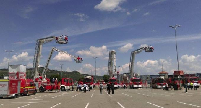 """Asociația de Dezvoltare Intercomunitară """"Transilvania de Nord"""" a achiziționat 6 autospeciale de intervenţie şi salvare de la înălţime"""