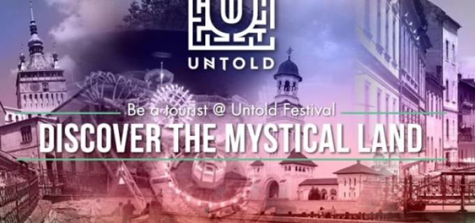 Salina Turda și Cheile Turzii incluse în traseul turistic al UNTOLD Festival