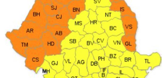 COD PORTOCALIU: Caldura si disconfort termic accentuat 8 iulie 2015
