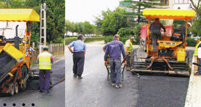 Raport informare lucrări de modernizare şi reparaţii străzi din Municipiul Turda