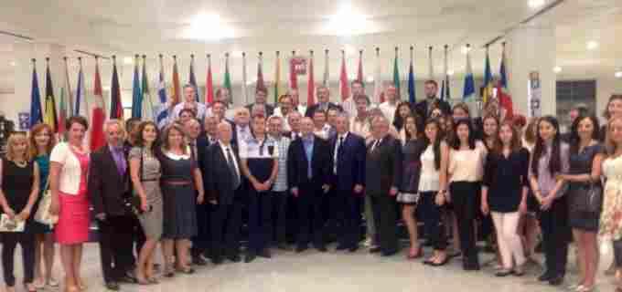 Primarul Tudor Ștefănie este în vizită la Parlamentul European
