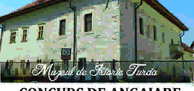 Angajări la Muzeul de Istorie Turda: muzeograf, custode sală și paznic