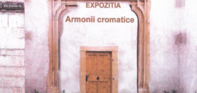 """Expoziţia """"Armonii cromatice"""" la Galeria Municipală de Artă Turda, vineri, ora 18:00"""