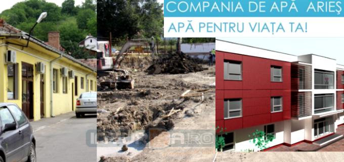 Compania de Apă ARIEȘ – o companie care se dezvoltă continuu