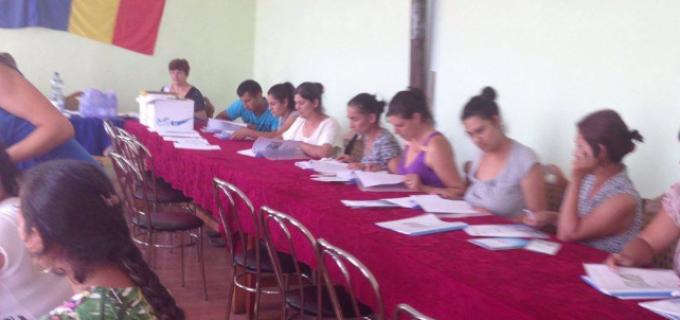 """70 de persoane au început cursul de calificare în meseria de brancardier din cadrul proiectului """"Workcall"""", Partener 1 Turda Salina Durgău SA"""