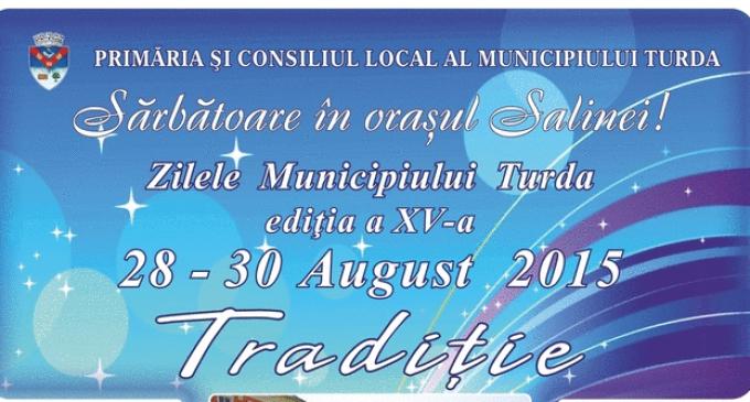 Program Zilele Municipiului Turda 2015