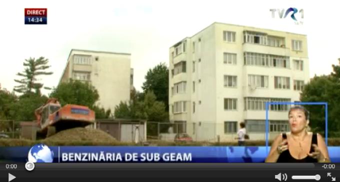 TVR Cluj, despre noua benzinărie din Turda: