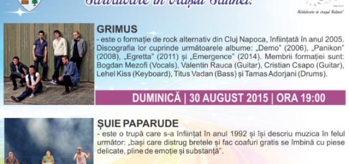 Spectacole ZMT15: Grimus & Șuie Paparude, duminică, 30 august 2015